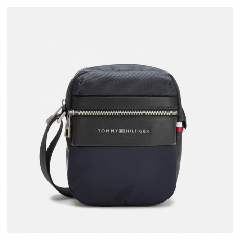 Tommy Hilfiger Men's Nylon Mix Mini Reporter Bag - Tommy Navy