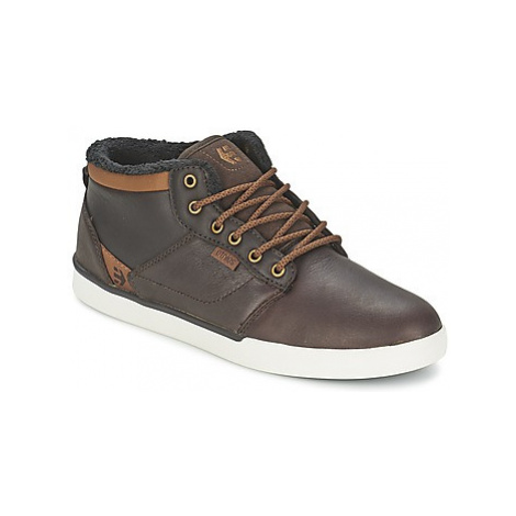 Etnies JEFFERSON MID men's Shoes (High-top Trainers) in Brown