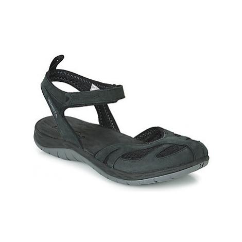 Merrell SIREN WRAP Q2 women's Sandals in Black