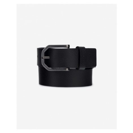 Calvin Klein Eessential Plus Faceted Belt Black