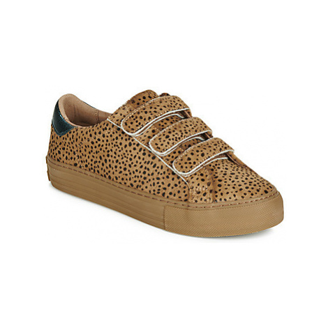 No Name ARCADE STRAPS women's Shoes (Trainers) in Beige