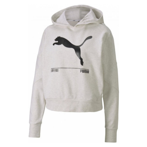 Puma NU-TILITY HOODY white - Women's sweatshirt