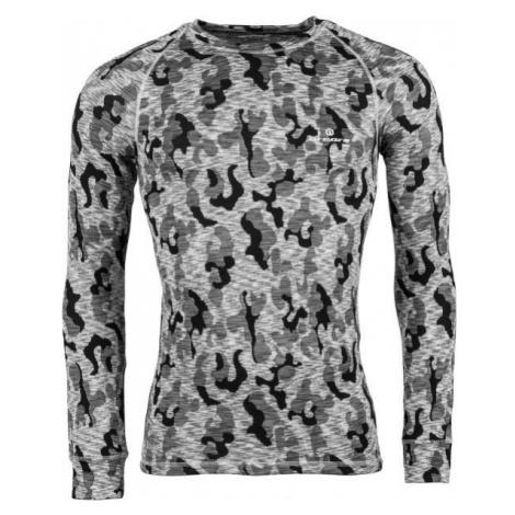 Grey men's thermal tops