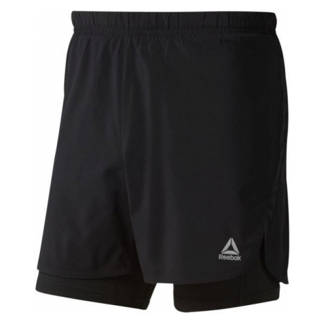 Reebok 2-1 SHORT black - Men's shorts