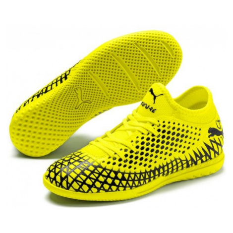 Puma FUTURE 4.4 IT JR yellow - Kids' indoor shoes
