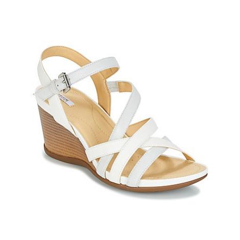 Geox DOROTHA C women's Sandals in White