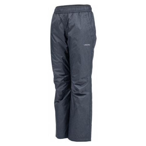 Lewro NAVEA dark gray - Insulated kids' trousers
