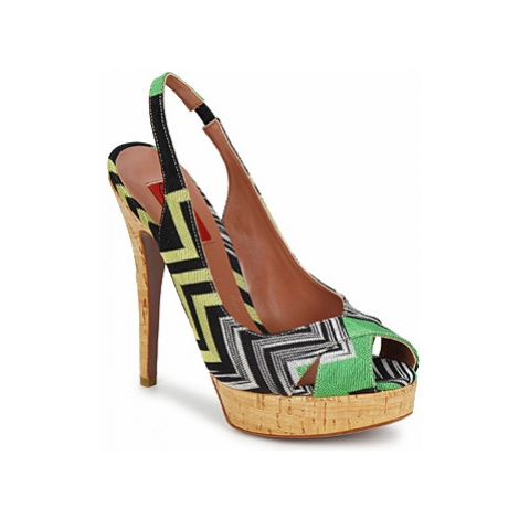 Missoni RM71 women's Sandals in Green