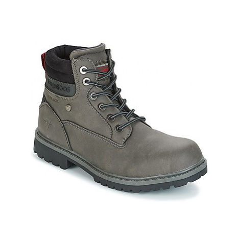 Kangaroos RIVETER JUNIOR boys's Children's Mid Boots in Grey