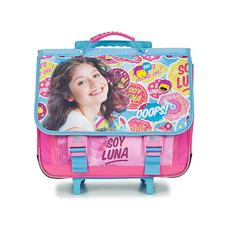 Disney SOY LUNA TROLLEY CARTABLE 41CM girls's Children's Rucksack in Pink
