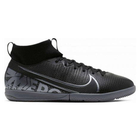 Nike JR MERCURIAL SUPERFLY 7 ACADEMY IC black - Boys' indoor shoes