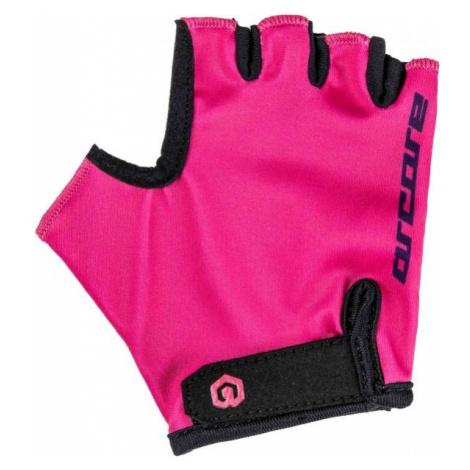 Arcore LUKE pink - Kids' cycling gloves
