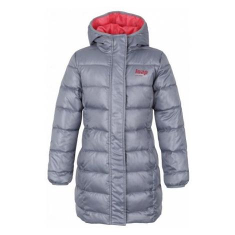Loap ILIVANA gray - Children's coat