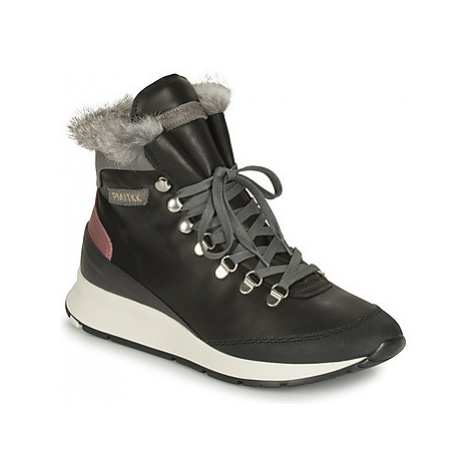 Philippe Model MONTECARLO women's Shoes (High-top Trainers) in Black