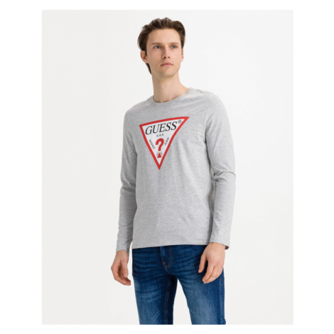Guess Original Logo T-shirt Grey