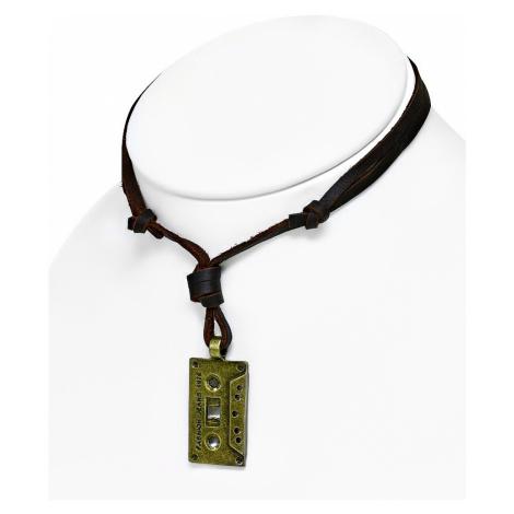 necklace Body Art CTH376 - Audio Cassette