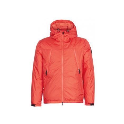 Red men's outdoor jackets