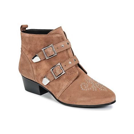Betty London HENORA women's Mid Boots in Brown