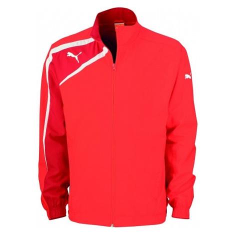 Puma SPIRIT WOVEN JACKET JR red - Children's sports jacket