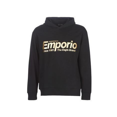 Emporio Armani 6G1MF8-1J07Z-0004 men's Sweatshirt in Black