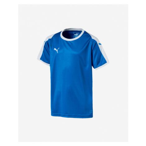 Puma Liga Football Jersey Kids T-shirt Blue