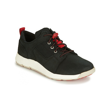 Timberland FLYROAM L/F OXFORD girls's Children's Shoes (Trainers) in Black