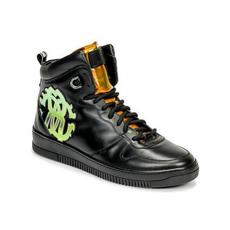 Roberto Cavalli 8343 men's Shoes (High-top Trainers) in Black