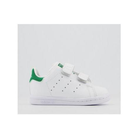 Adidas Stan Smith Cf Td 3-9 WHITE GREEN