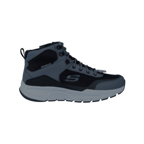 Skechers Escape 51705 Botas Water Repellent de Hombre men's Shoes (High-top Trainers) in Black