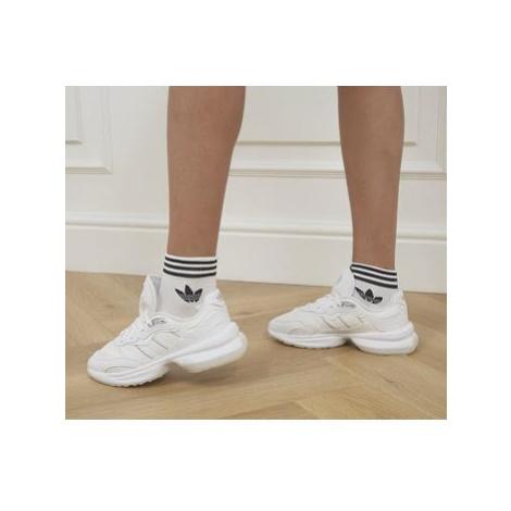 Adidas Trefoil Ankle Socks 3 Pack WHITE