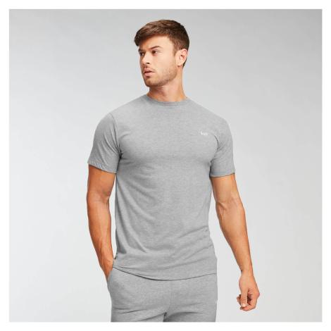 MP Men's Essentials T-Shirt - Classic Grey Marl Myprotein