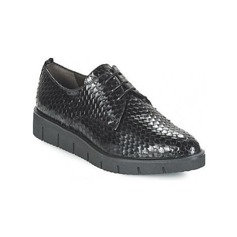 Perlato MEQUINI women's Casual Shoes in Black
