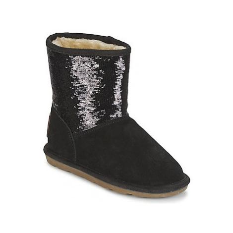 Les Tropéziennes par M Belarbi ANETTA girls's Children's Mid Boots in Black