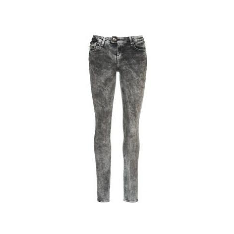 DDP DEBORA women's Skinny Jeans in Grey