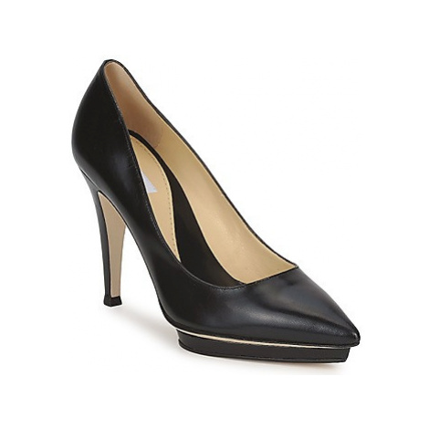 Moschino CLASSIC HEART women's Court Shoes in Black