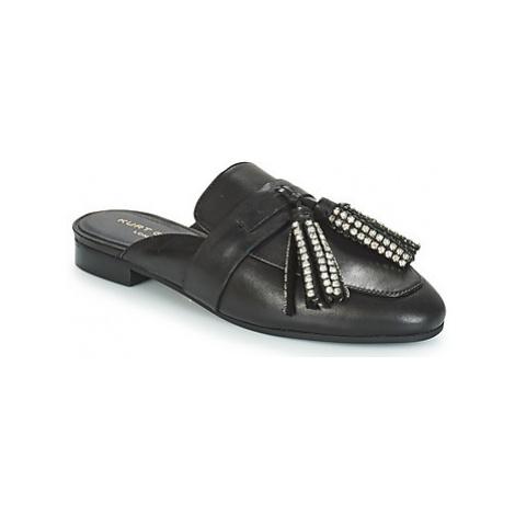 KG by Kurt Geiger KAISER CRYSTAL women's Mules / Casual Shoes in Black KG Kurt Geiger