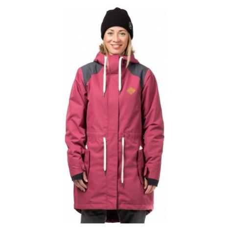 Horsefeathers POPPY JACKET pink - Women's ski/snowboard jacket