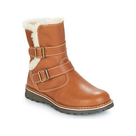 Citrouille et Compagnie JOBI girls's Children's Mid Boots in Brown