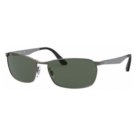 Ray-Ban Rb3534 Man Sunglasses Lenses: Green, Frame: Gunmetal - RB3534 004 59-17