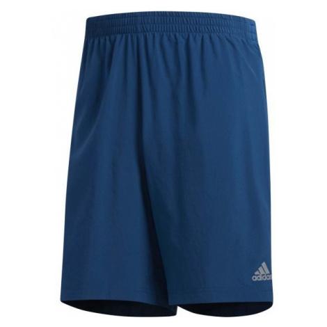 adidas OWN THE RUN 2N1 blue - Men's running shorts