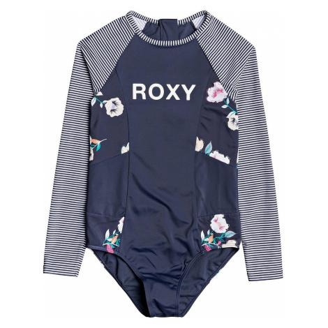 swimsuit Roxy Lets Get Salty Onesie LS - XBNM/Mood Indigo Better Way S - girl´s