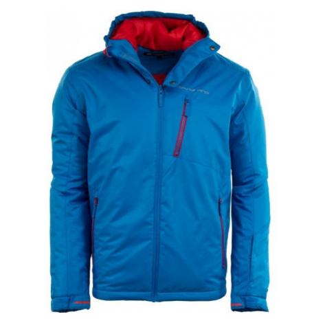 ALPINE PRO QUARTZ 3 blue - Men's ski jacket