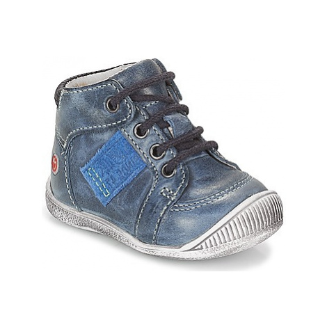 GBB RACINE boys's Children's Shoes (High-top Trainers) in Blue