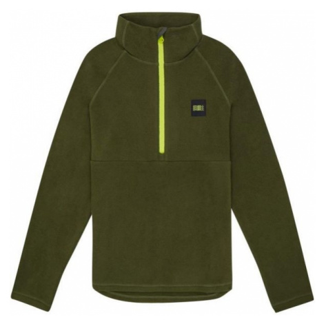 O'Neill PB 1/4 ZIP FLEECE dark green - Boy's sweatshirt