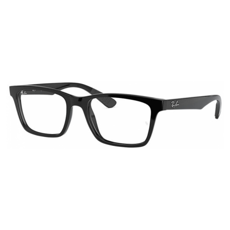 Ray-Ban Rb7025 Man Optical Lenses: Multicolor, Frame: Black - RB7025 2000 53-17