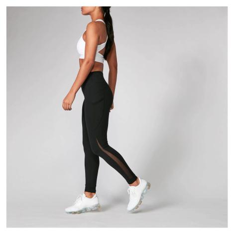 MP Women's Power Mesh Leggings - Black/Black (2 Pack) Myprotein