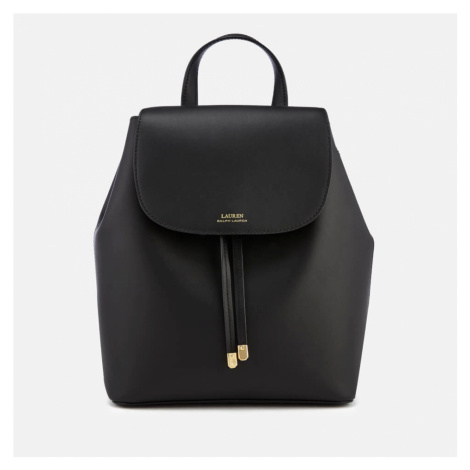 Lauren Ralph Lauren Women's Dryden Flap Medium Backpack - Black/Crimson