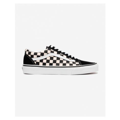 Vans Primary Check Old Skool Sneakers Black White