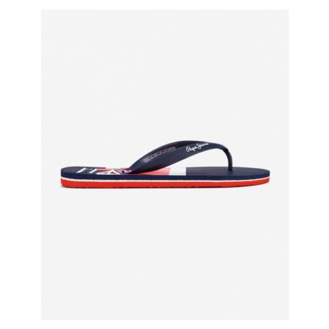 Blue men's flip-flops
