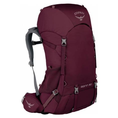 Osprey RENN 50 red wine - Trekking backpack